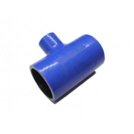 "Durite silicone en ""T"" (Ø:63mm - Ø:25mm x L:102mm)"