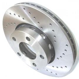 Kit disques frein avant gauche/droit (90-96, 276x25, 5/112, perforés)
