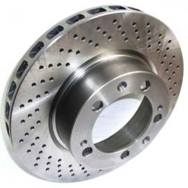 Disque frein avant droit (94-96, 304x32, 5/130, perforé)