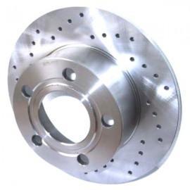 Kit disques frein arrière gauche/droit (83-99, 245x10, 5/112, perforés)