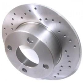 Kit disques frein arrière gauche/droit (82-00, 245x10, 4/108, perforés)