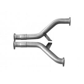 Kit tubes remplacement catalyseurs d'échappement Audi 100/A6 C4 Avant/Limousine Quattro S4/S6 (91-97, 2x60mm)