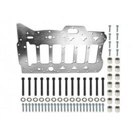 Kit plaque renfort paliers vilebrequin moteur VR6 2.8-3.6L 24V (99-)