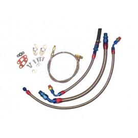 """Kit tuyaux eau & huile turbo """"KKK"""" moteur R5 2.2-2.7L 20VT (89-97, K24/26/27)"""