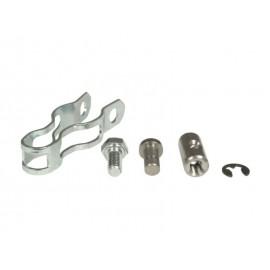 Kit support & serre câble volet de chauffage d'échangeur thermique d'échappement gauche/droit (56-03)