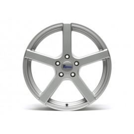 "Roue aluminium ""TA Technix XF1 Silber"" (8.5x19"" ET42 5/112)"