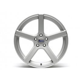 "Roue aluminium ""TA Technix XF1 Silber"" (9.5x19"" ET35 5/112)"