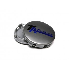 "Cache roue aluminium ""TA Technix XF1/XF2 Gun Metal"""