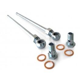 "Kit tuyaux d'eau aller/retour turbo ""Garrett"" (M14x1.5, GT/GTX28/30/35/40/42)"