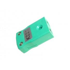 Connecteur thermocouple K-type femelle sonde EGT & AIT (2 pôles, vert)