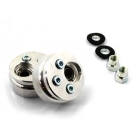 Kit paliers suspensions avant/arrière gauche/droit R.T. (79-00, excentriques)