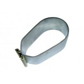 Kit collier & étrier palier barre stabilisatrice arrière gauche/droit extérieur (74-93, inox)