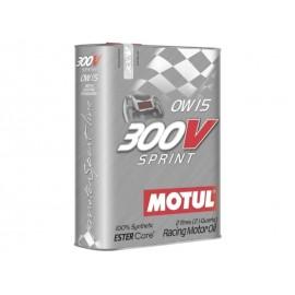 "Huile moteur ""Motul 300V Sprint 0W15"" (2L)"