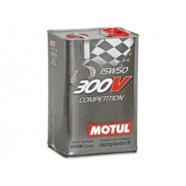 """Huile moteur """"Motul 300V Compétition 15W50"""" (5L)"""