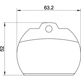Kit plaquettes frein avant (72-81)
