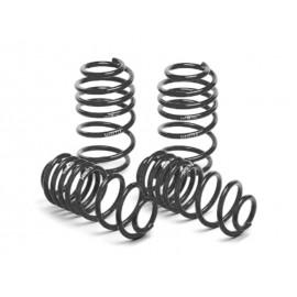 """Kit ressorts de suspension avant/arrière """"H&R"""" Audi 100 Avant Quattro S4 (91-94, -25/-25mm)"""