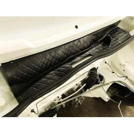 Séparateur d'eau rebord de tablier avant/baie de pare-brise Volkswagen Caddy I/Golf I/Golf I Cabriolet/Jetta I 17/155/16 (74-93)