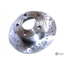 Kit disques frein arrière gauche/droit (79-91, 245x10, 5/112, perforés)