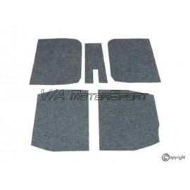 Insonorisant plancher avant/arrière gauche/droit (74-93)