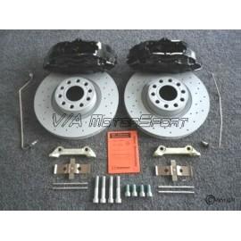 Kit freins avant gauche/droit H.P. Audi 80 Avant/Coupé/Limousine Quattro S2 (90-96, 323x30, 5/112, perforés, 4 pistons)