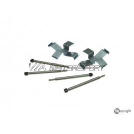 """Kit fixations plaquettes de freins avant gauche/droite """"ATE"""" (72-86, 2 axes de retenue)"""