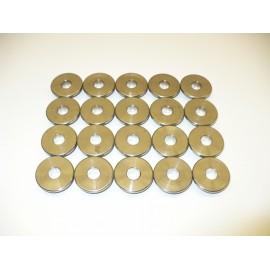 Kit coupelles supérieures ressorts soupapes H.P. (20V, titanium)