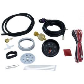 """Kit indicateur BOOST """"AEM Electronics"""" (analogique, -1 à +2.4Bar)"""