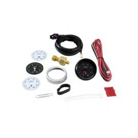 """Kit indicateur OIL PRES """"AEM Electronics"""" (analogique, 0 à 100PSI)"""