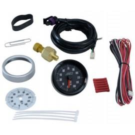 """Kit indicateur OIL PRES """"AEM Electronics"""" (analogique, 0 à 150PSI)"""