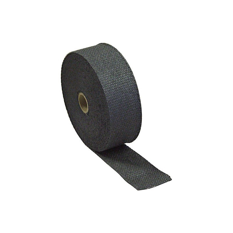 ruban isolant thermique d 39 chappement fibre c ramique 50mm x 15m noir v a motorsport. Black Bedroom Furniture Sets. Home Design Ideas