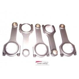 """Kit bielles H.P. en H """"Scat Crankshafts"""" moteur R5 2.2L 20VT (144mm)"""
