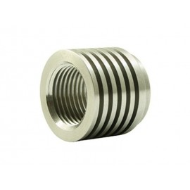 Douille sonde lambda/échappement dissipateur thermique (V2A, 18x1.5mm)