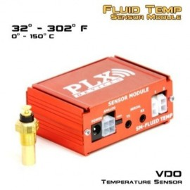 "Kit sensor module SM-FLUID-TEMP ""PLX Devices"" (1/8NPT, 300F/150C, avec sensor)"