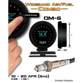 "Kit indicateur DM-6 SM-AFR Combo ""PLX Devices"" (digital, 52mm)"