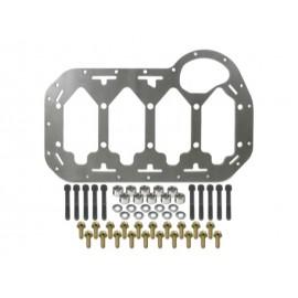 Kit plaque renfort paliers vilebrequin moteur R4 1.8-2.0L 8-16V (82-98)