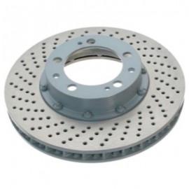 Disque frein avant droit (96-, 322x32, 5/130, perforé sur bol)