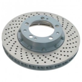 Disque frein avant gauche (96-, 322x32, 5/130, perforé sur bol)