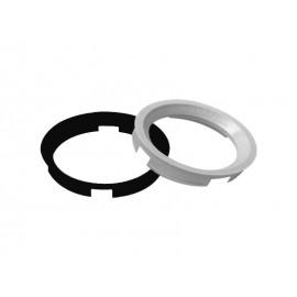 Bague de centrage de roue (63.40x59.10mm, blanc gris)