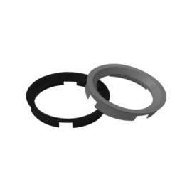 Bague de centrage de roue (63.40x54.10mm, gris argent)